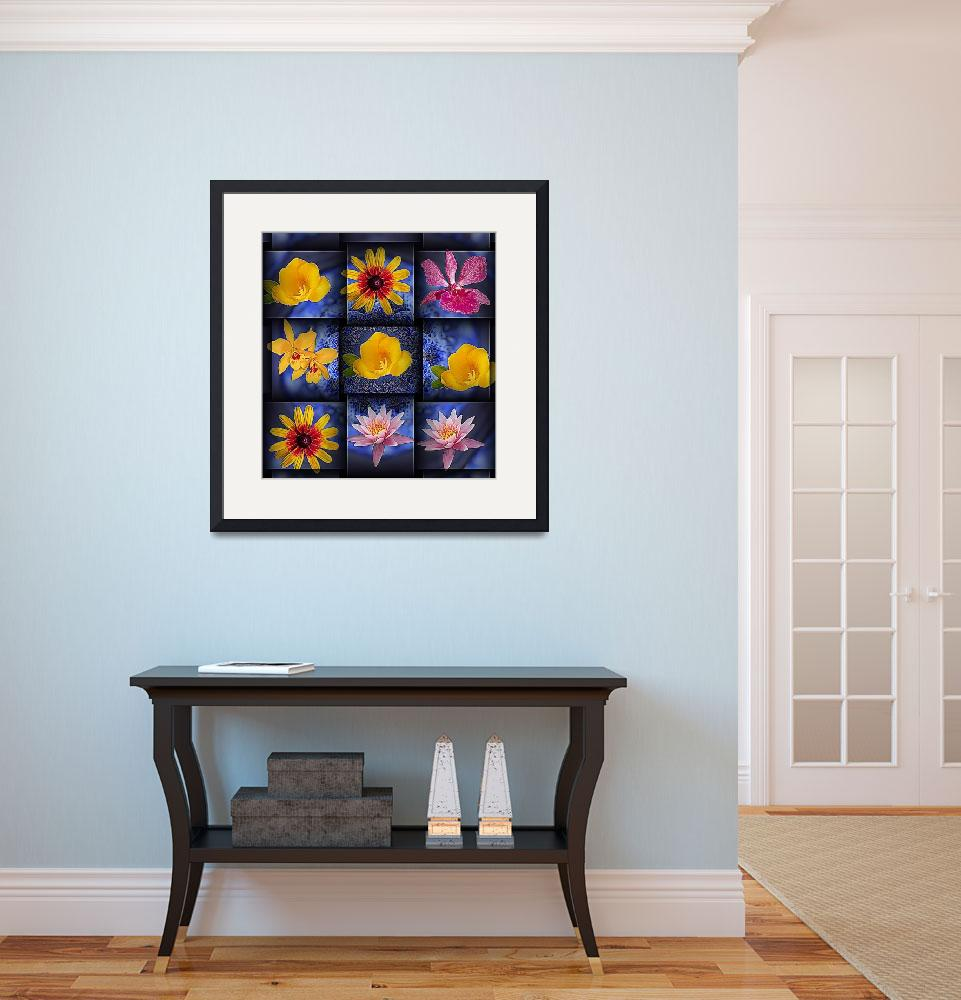 """""""Flowers in the City""""  (2008) by crownedregal"""