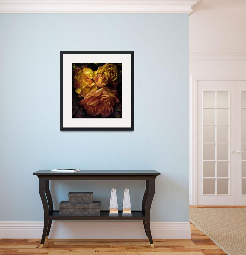 """""""Sunset Rose (large)&quot  (2009) by JessicaJenney"""