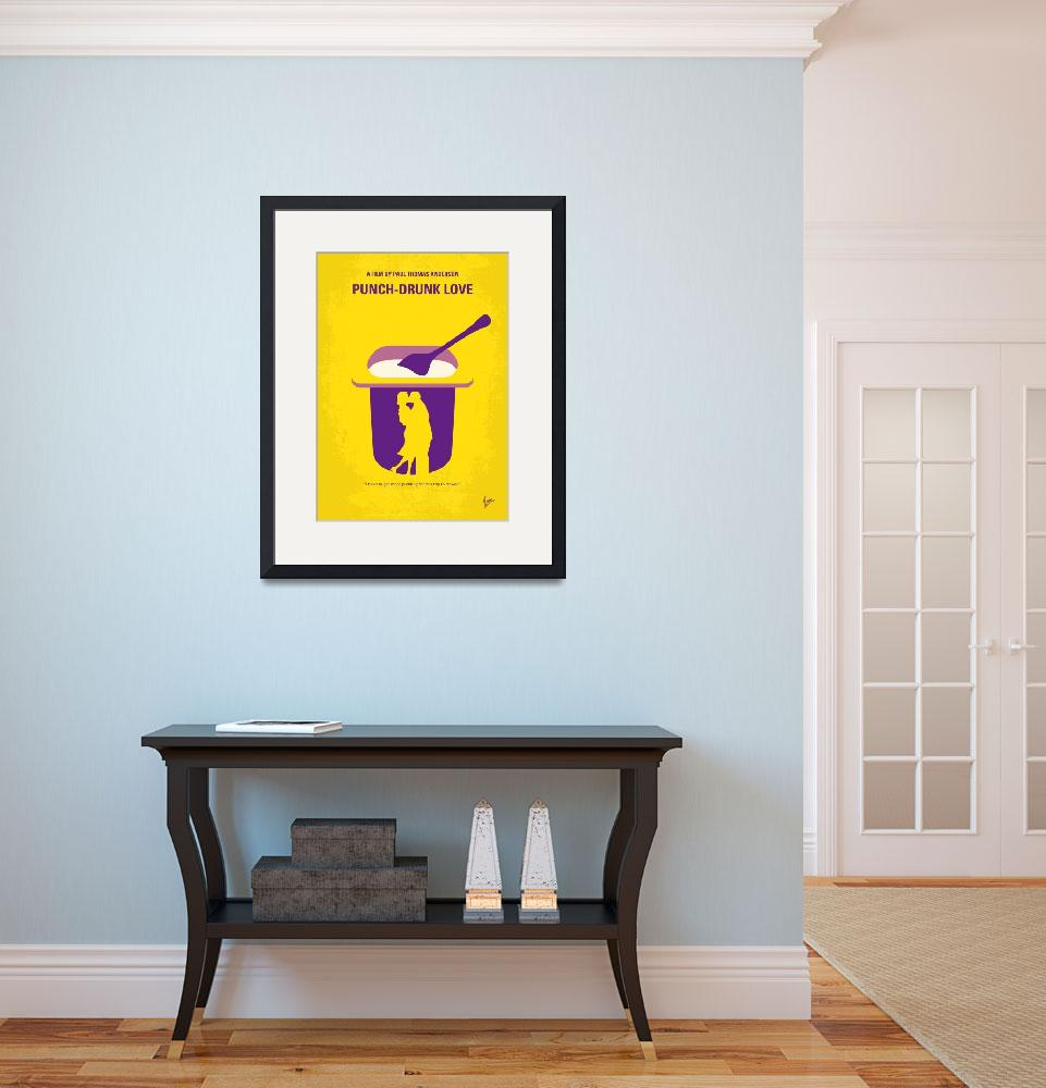 """""""No1022 My Punch-Drunk Love minimal movie poster&quot  by Chungkong"""
