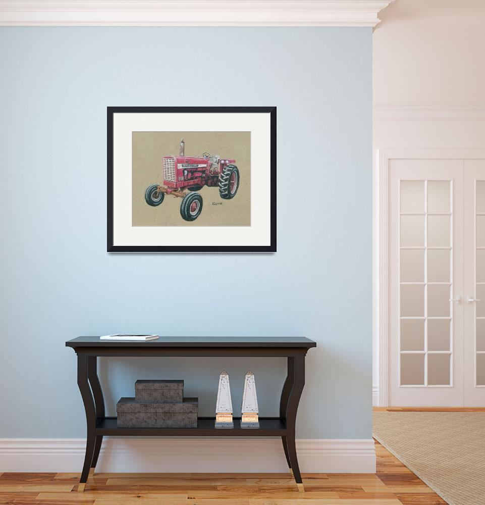 """""""Farmall 656&quot  (2010) by gypc"""