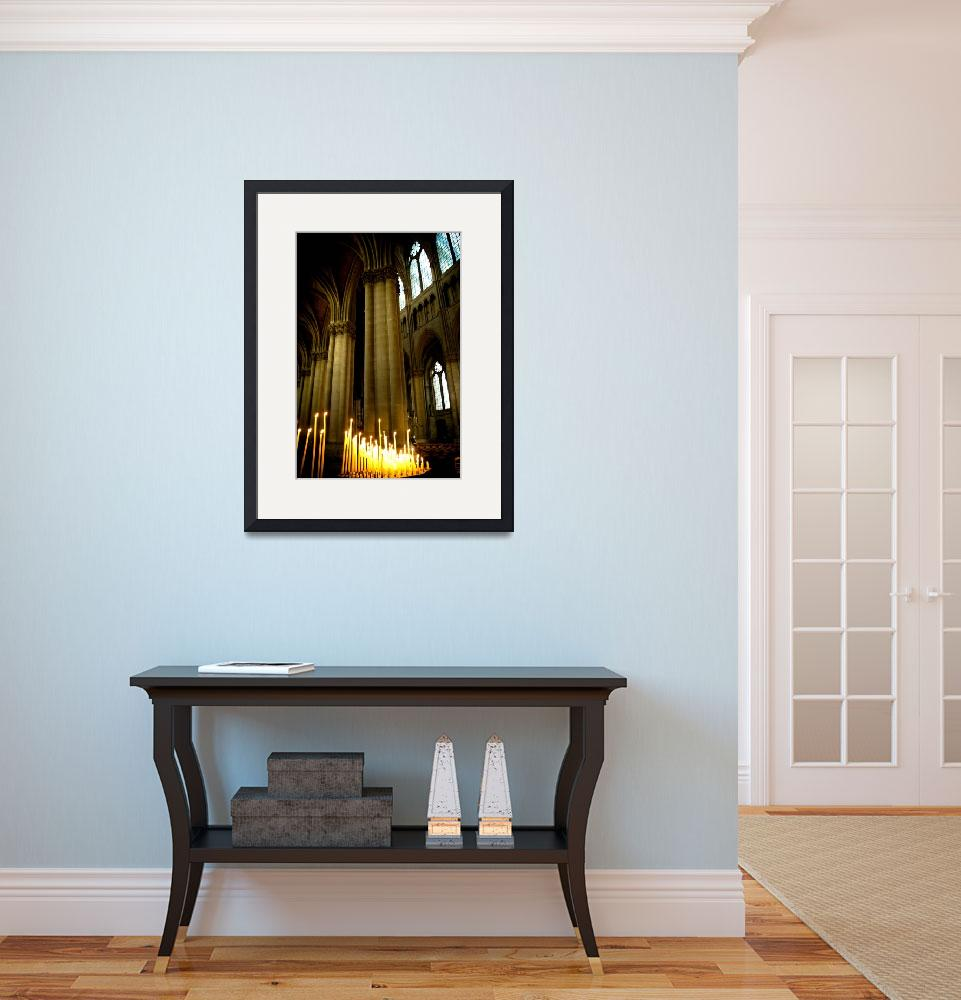 """""""Reims Cathedral - Interior&quot  (2009) by mickymazda"""