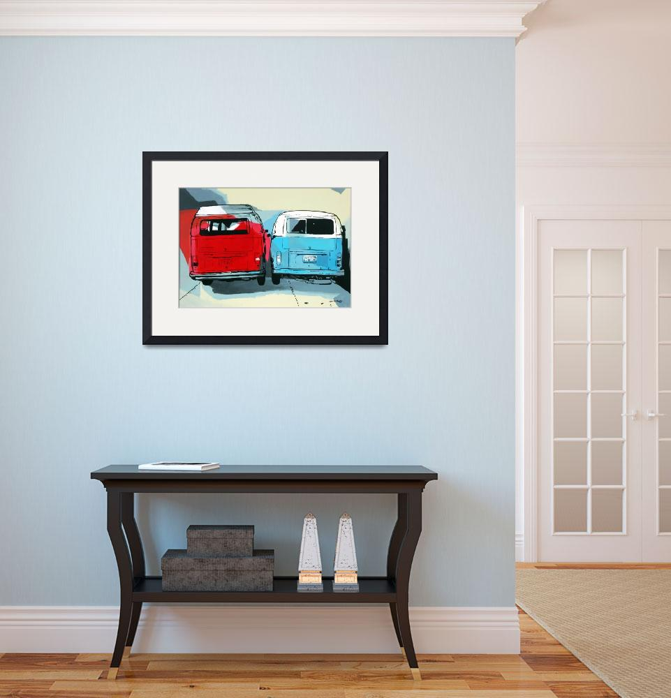 """""""Two Busses&quot  (2008) by nuno"""