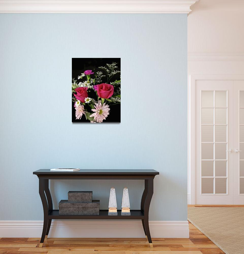 """Floral Arrangement""  (2009) by PhotographsByCarolFAustin"