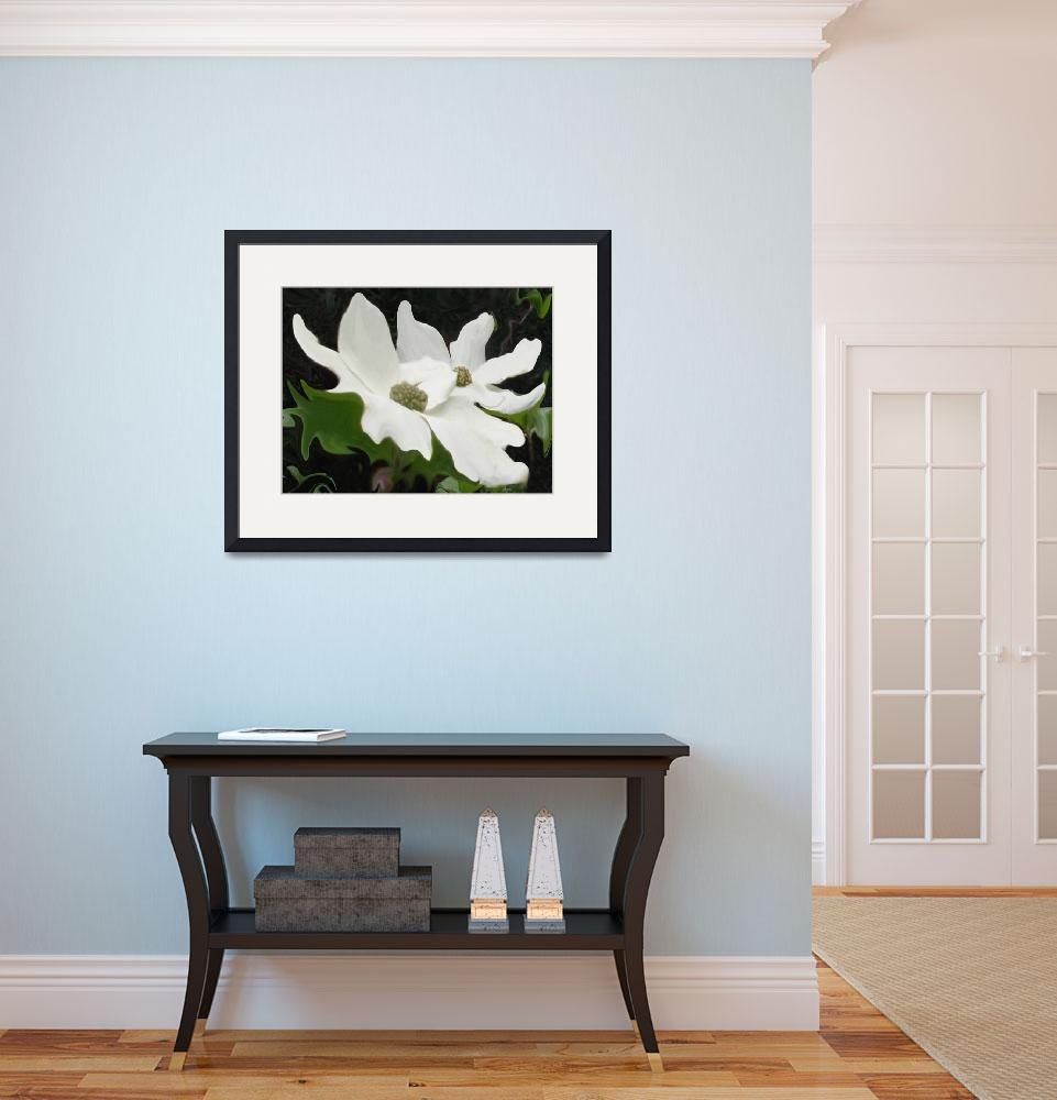 """Dogwoods&quot  (2007) by MannellGallery"