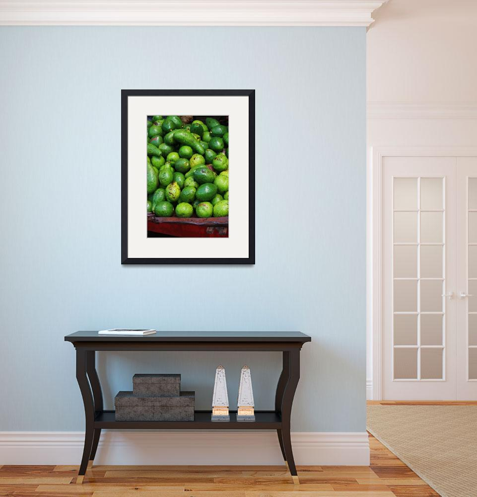 """""""Avocados&quot  (2008) by gustinegirl"""