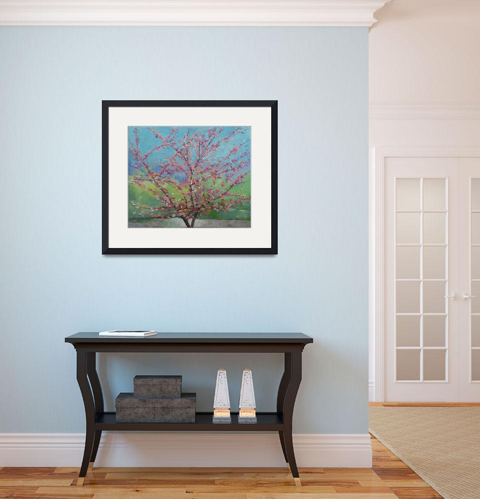 """""""Eastern Redbud Tree&quot  by creese"""
