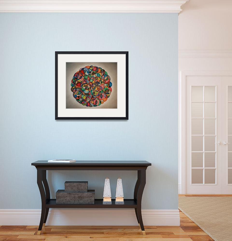 """""""circles in circles&quot  (2007) by sidhartha11"""