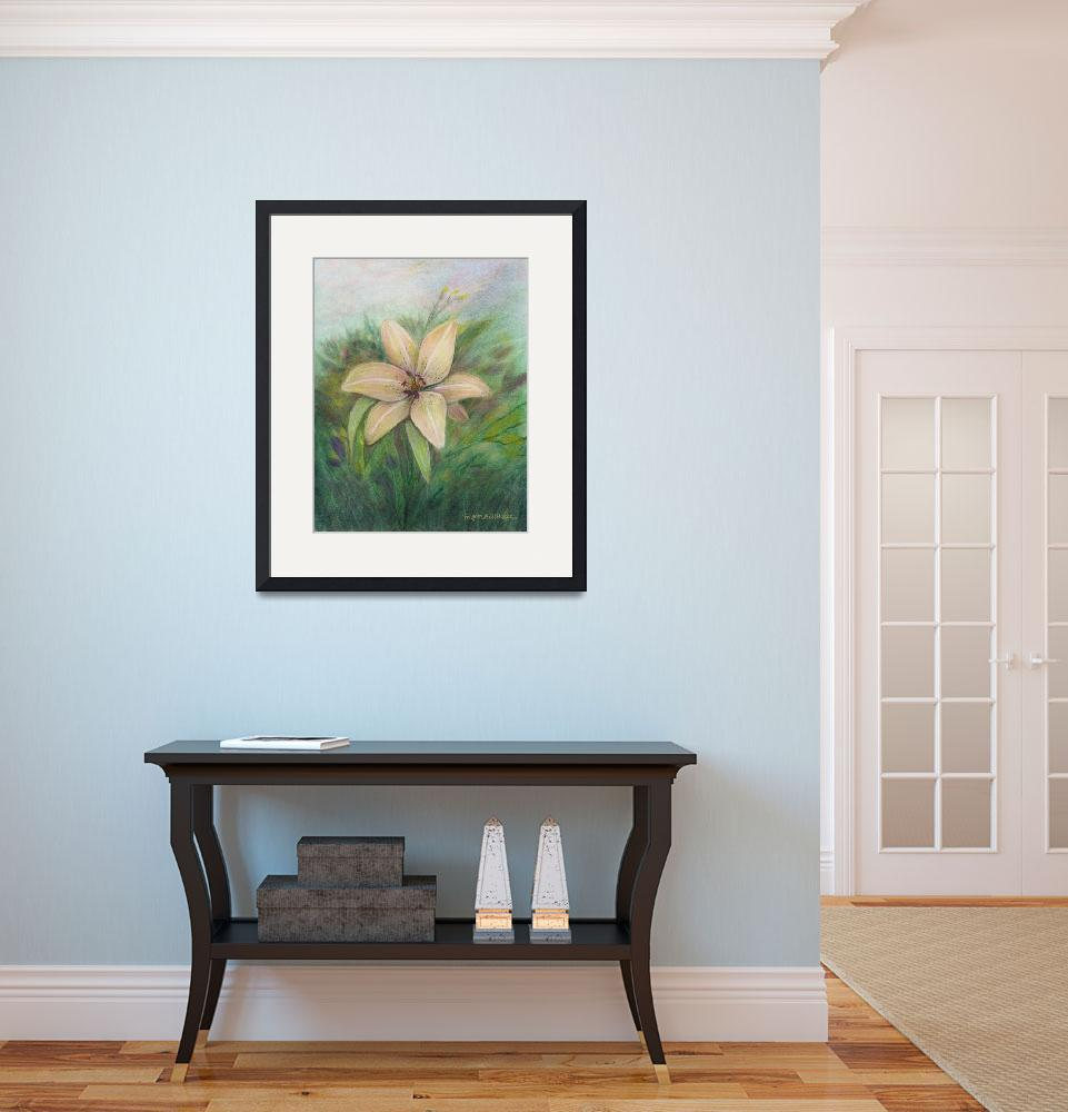 """""""Oriental Lily&quot  (2011) by GiorgettaMcRee"""