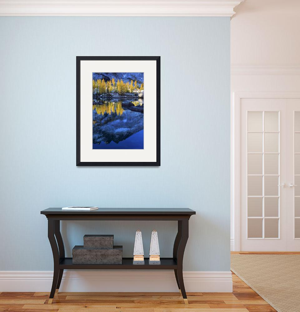 """Blue and Yellow&quot  (2009) by Inge-Johnsson"