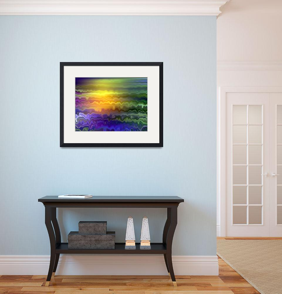 """""""Ocean Sunset by Angel Honey, 2010&quot  (2010) by AngelsCreativeWorks"""