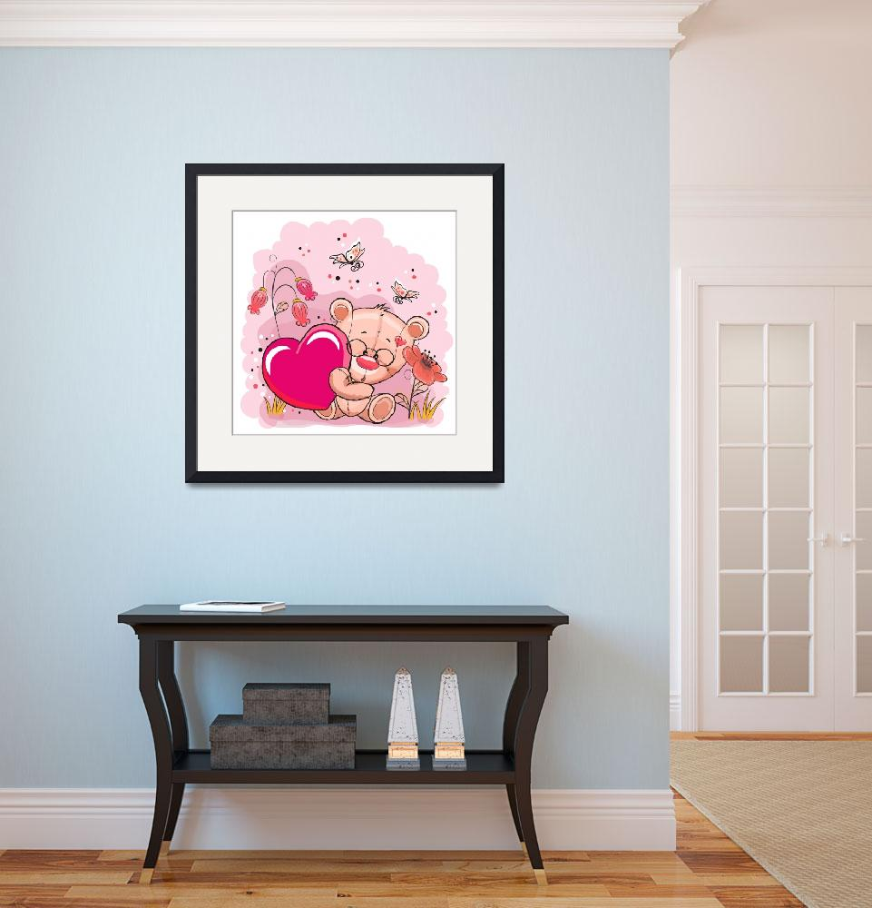 """""""Cute Animals and Things Framed Print&quot  by buddakats1"""