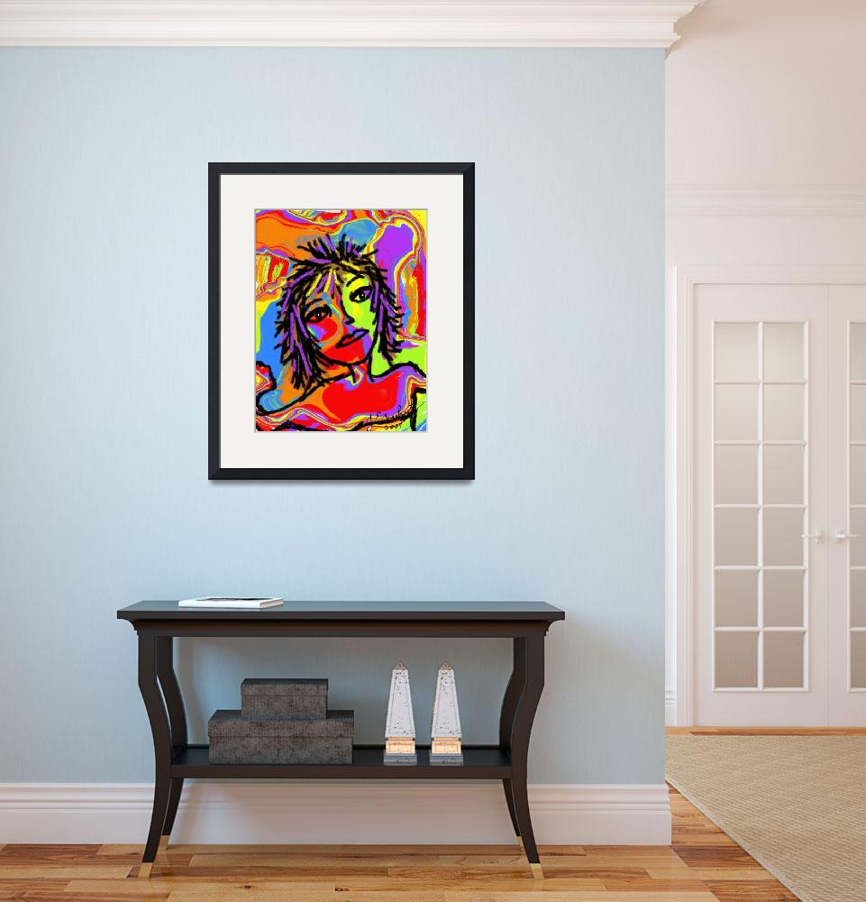 """""""Rainbow Girl by J.Everhart&quot  by JulieEverhart"""