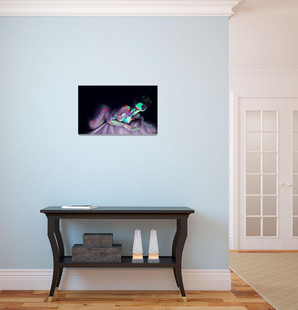 """UV Paints&quot  (2010) by AlyssaCooper"