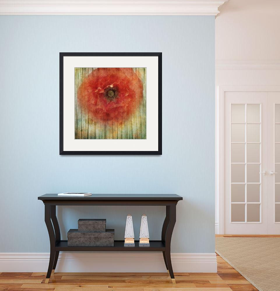 """Decor Poppy Blossom&quot  (2014) by Piri"