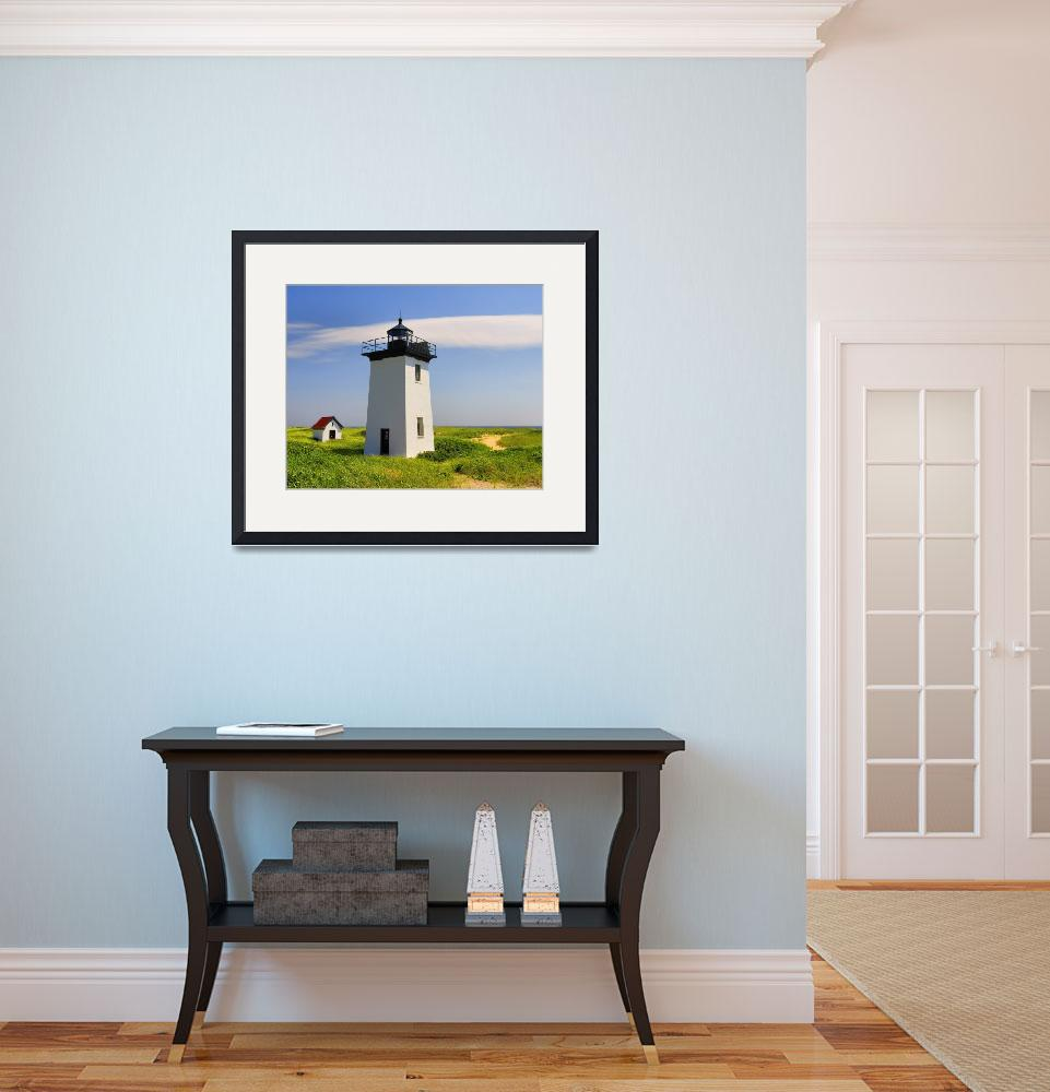 """""""Provincetown - Wood End Lighthouse&quot  (2007) by PJPHOTO"""