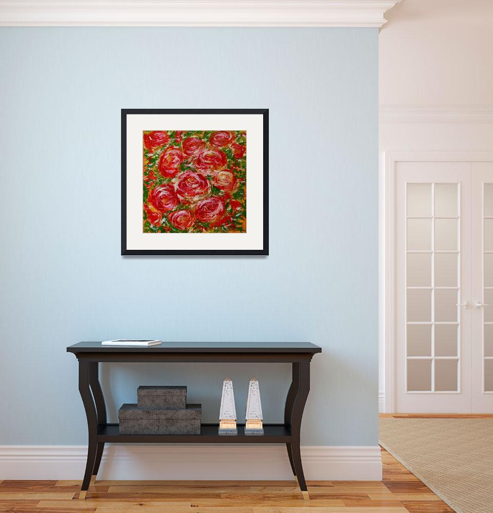 """""""Holiday Roses&quot  (2015) by Karbstein"""