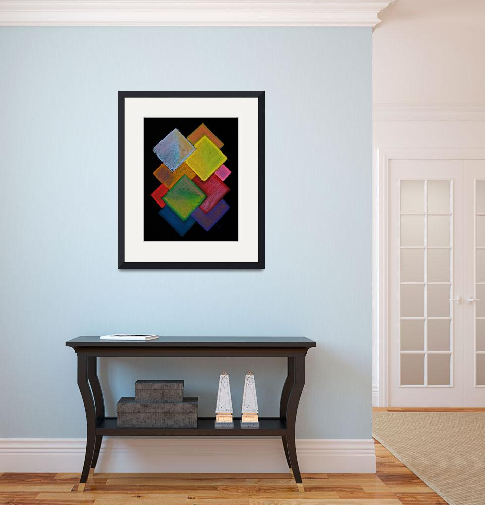 """""""Squared Rainbow&quot  (2009) by shana"""