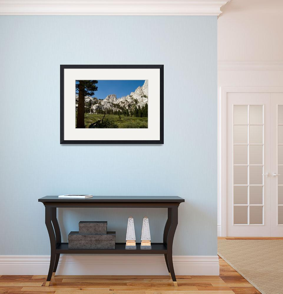 """""""View From Mt. Whitney Trail&quot  (2009) by 2snares"""
