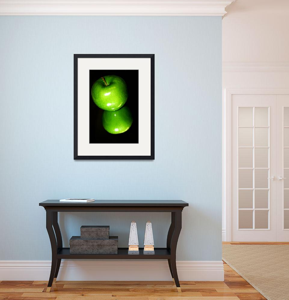 """Green Apple&quot  (2007) by ldfranklin"