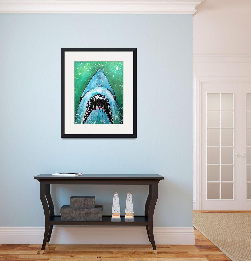 """""""Spawn of Jaws""""  (2014) by ArtPrints"""