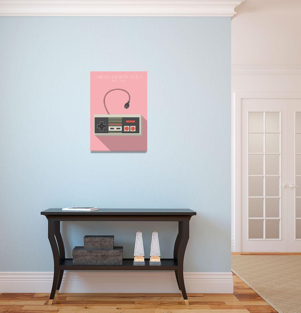 """NES - Pink&quot  (2014) by 8bit"