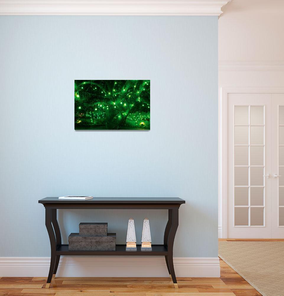 """""""Light bulb garden""""  (2010) by gavila"""
