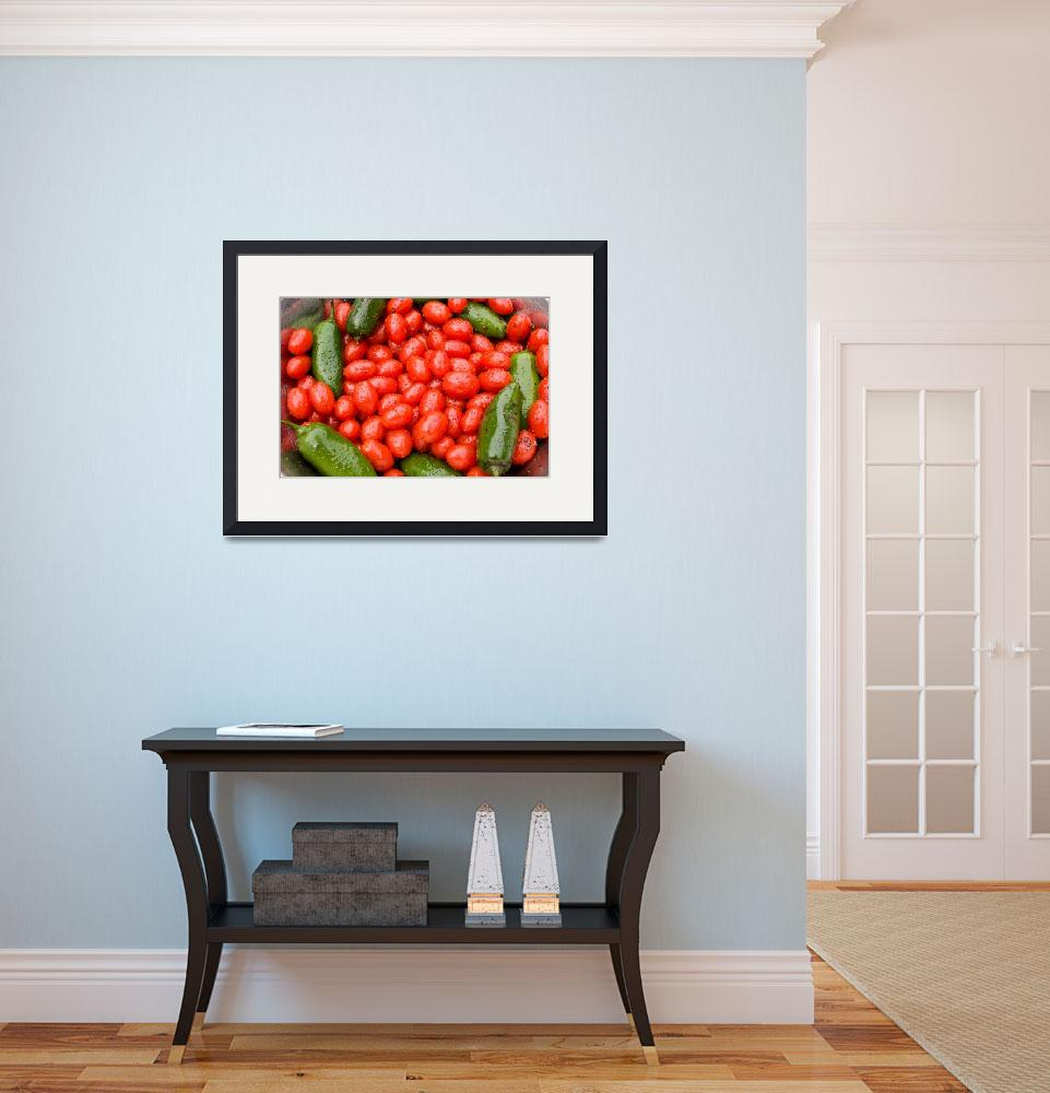 """""""Hot Peppers and Cherry Tomatoes""""  (2009) by lightningman"""