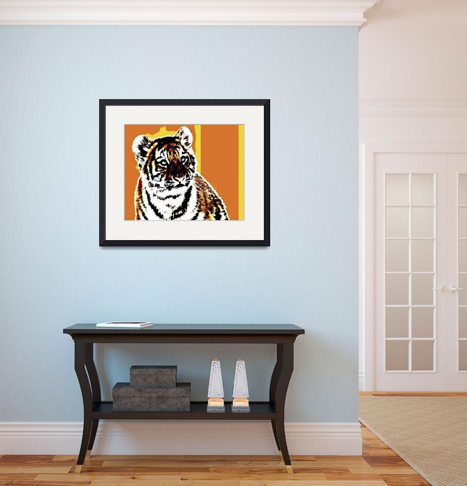 """""""TIGER TIGER-22&quot  (2015) by thegriffinpassant"""