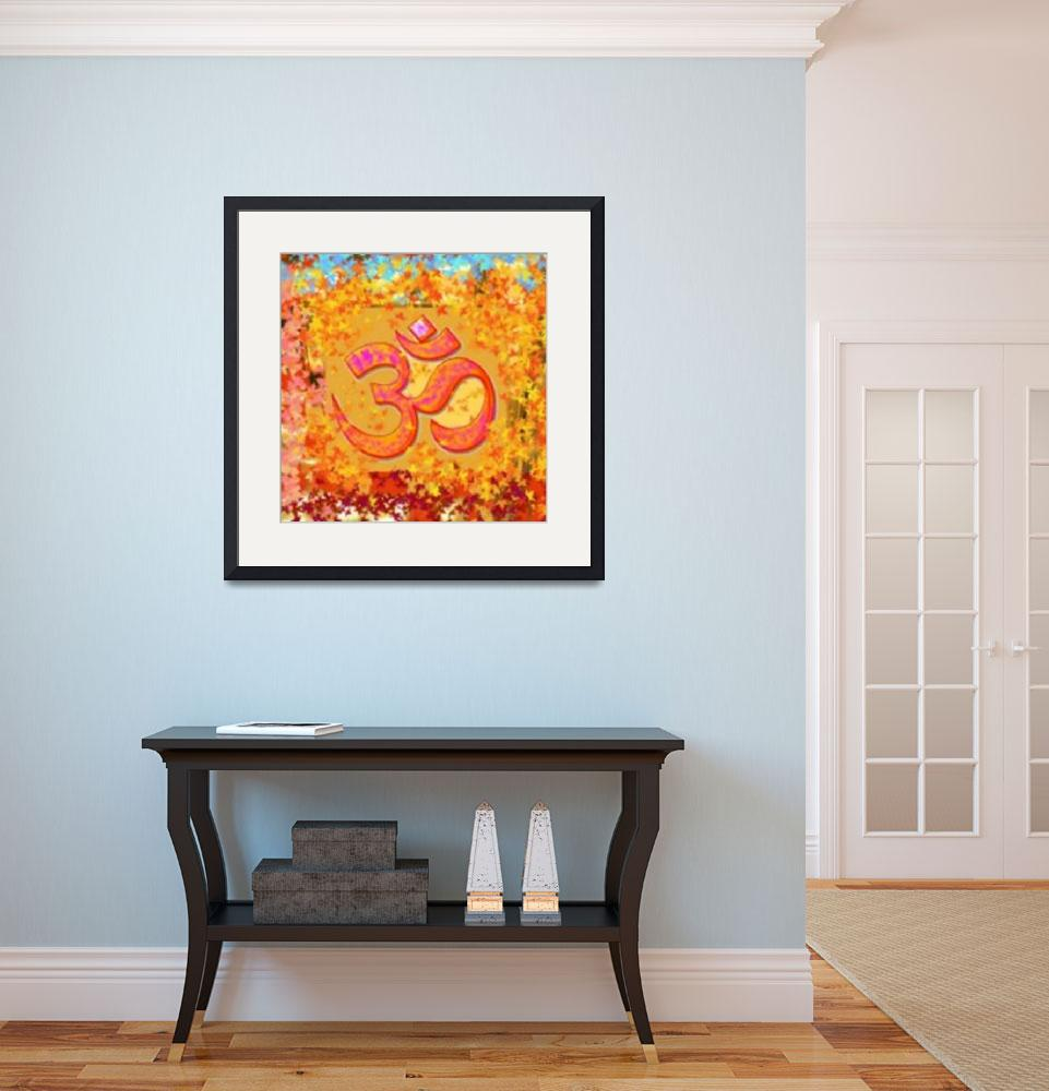 """""""Om Mantra&quot  (2010) by awgp"""