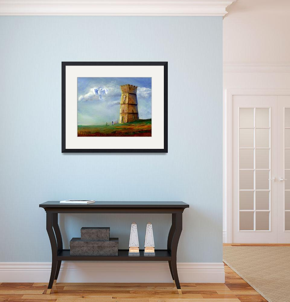 """""""Strong Tower&quot  (2005) by Lenora"""