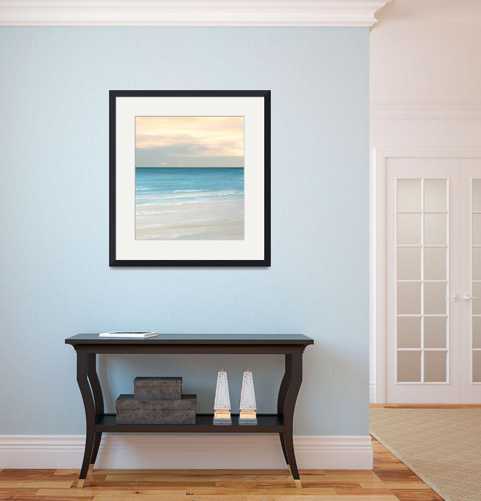 """""""Beach Front&quot  (2013) by FradetFineArt"""