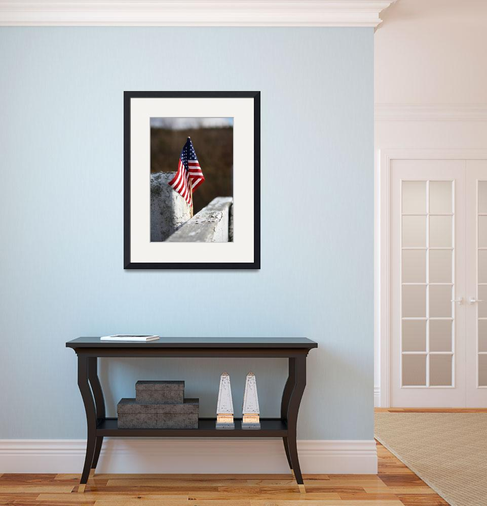 """""""American Flag&quot  (2009) by ktremblay9286"""