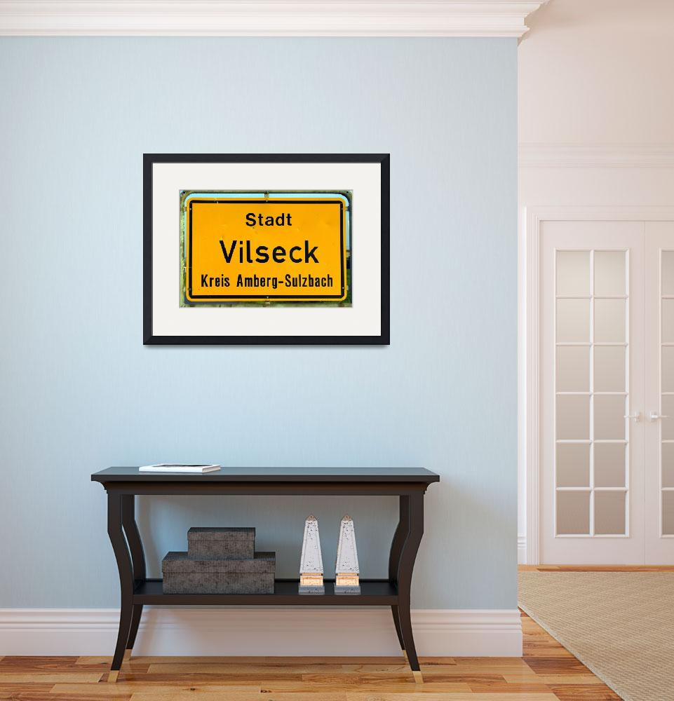 """""""You are Now Entering Vilseck Up Close and Personal&quot  by Artsart"""