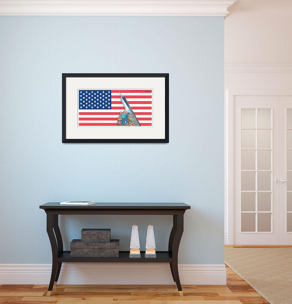 """""""Daddys Home 9/11 Tribute&quot  by RubinoFineArt"""