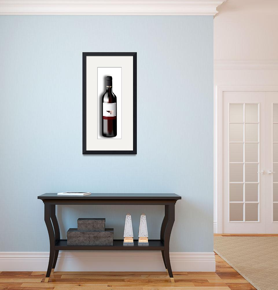 """""""Red Wine&quot  (2008) by LAArtworks"""