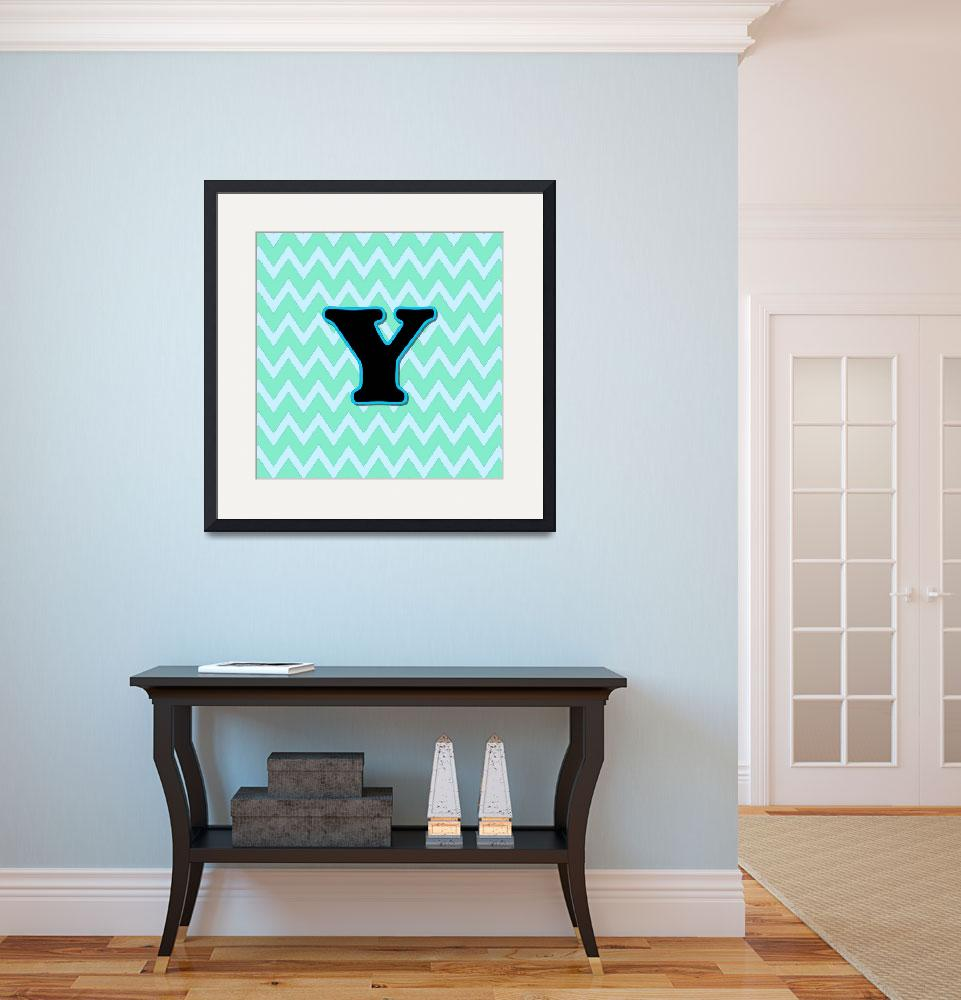 """Letter Y&quot  (2015) by paintingsbygretzky"