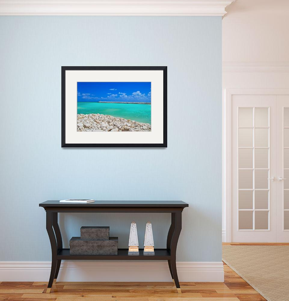 """Caribbean Blue&quot  (2009) by ImageArt-Photography"
