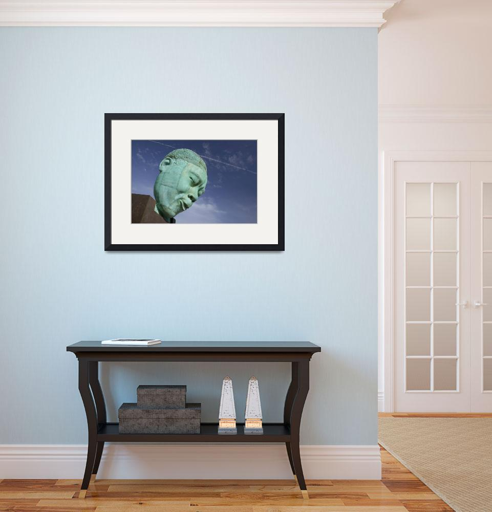 """""""Low angle view of the bust of a musician&quot  by Panoramic_Images"""