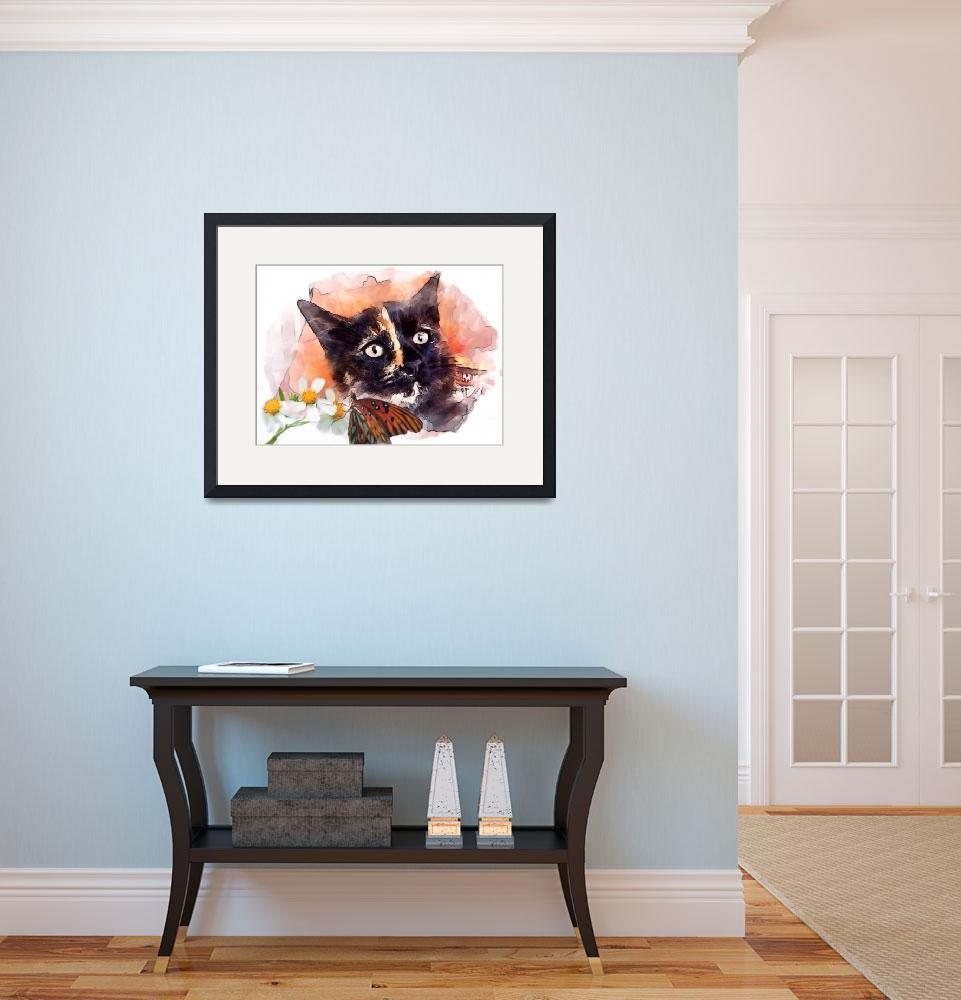 """""""Kitty&quot  (2013) by barbee"""