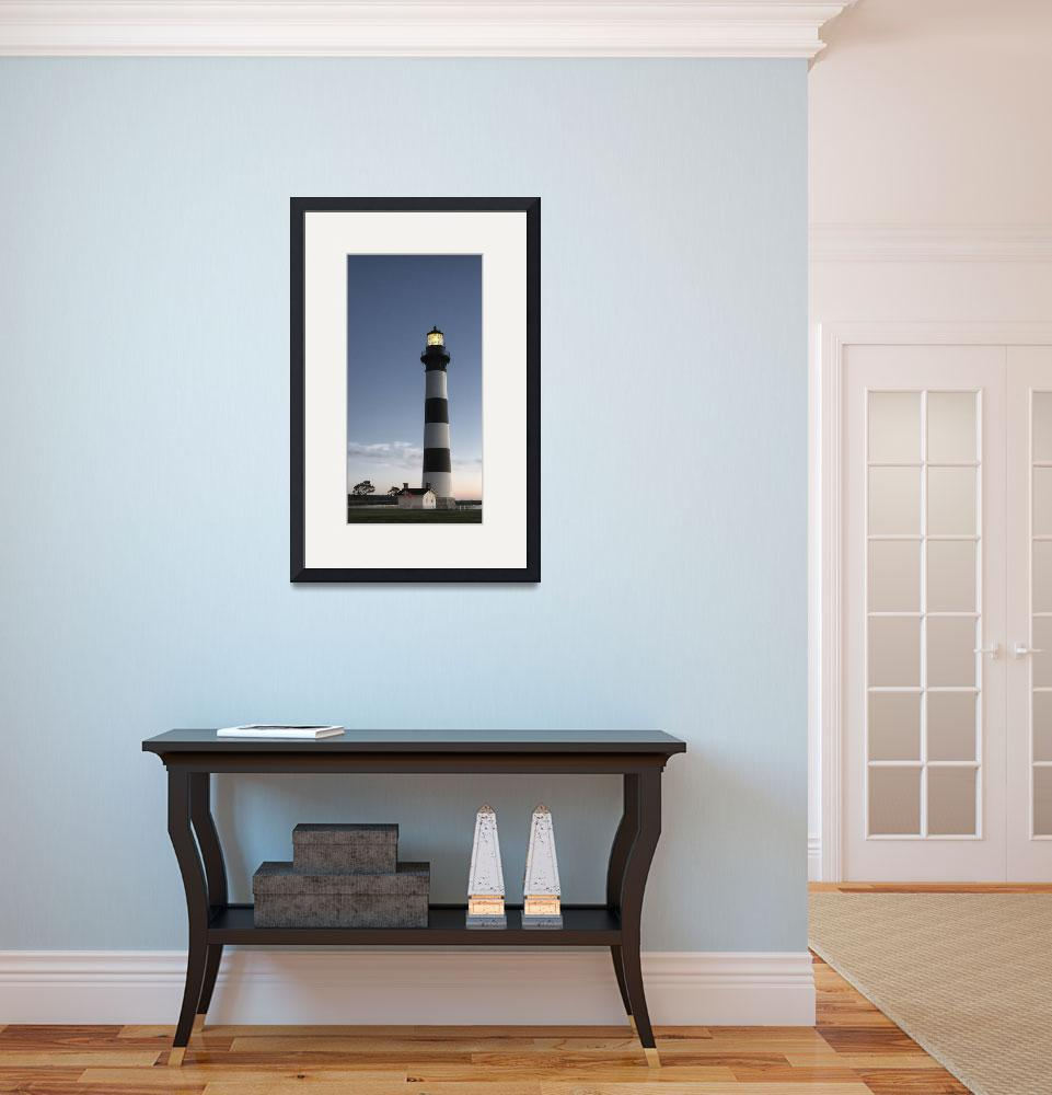 """""""Bodie Island Lighthouse&quot  (2014) by rwfawcett"""