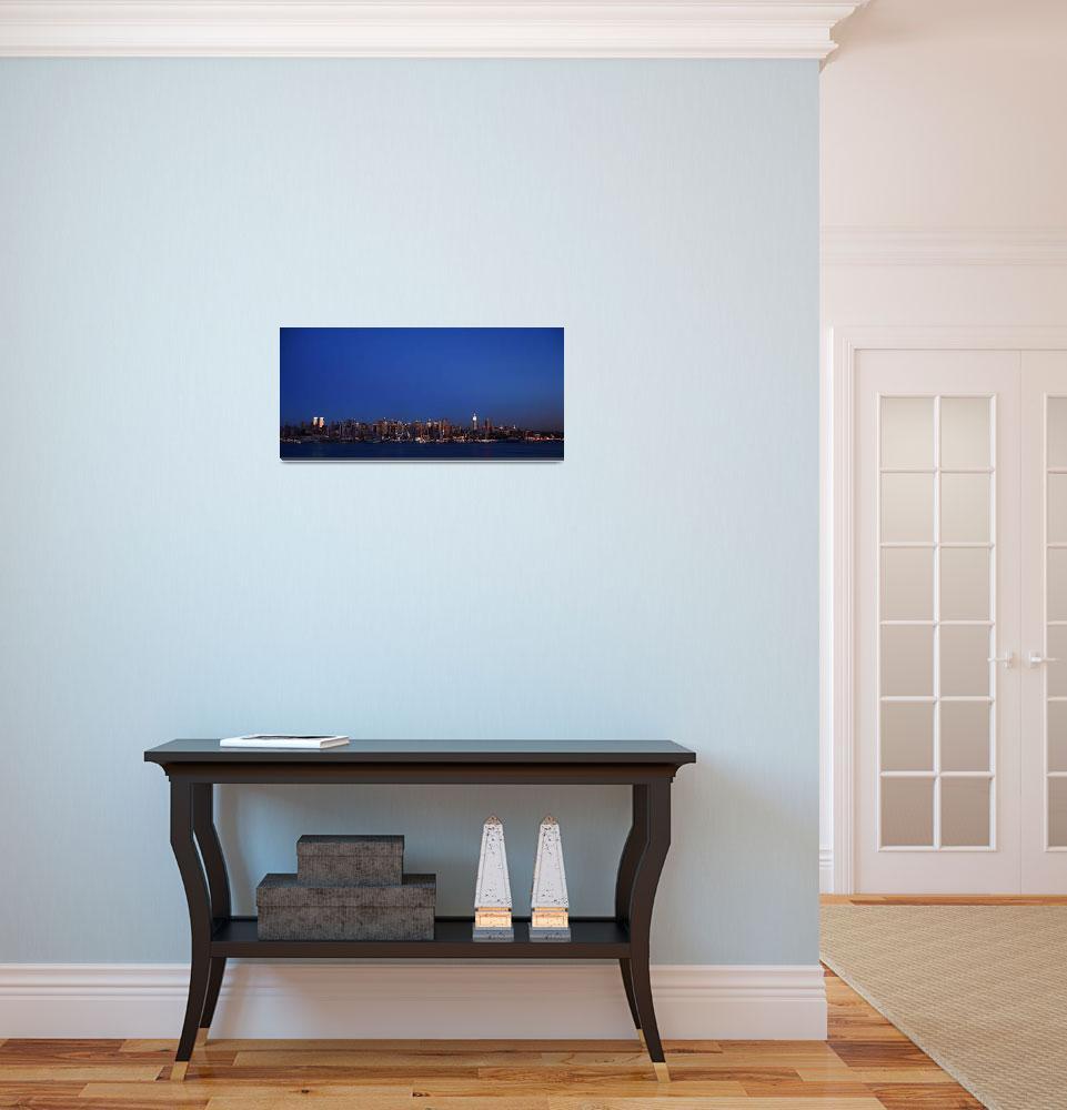 """New York City Skyline&quot  (2007) by candid-photoNYC"