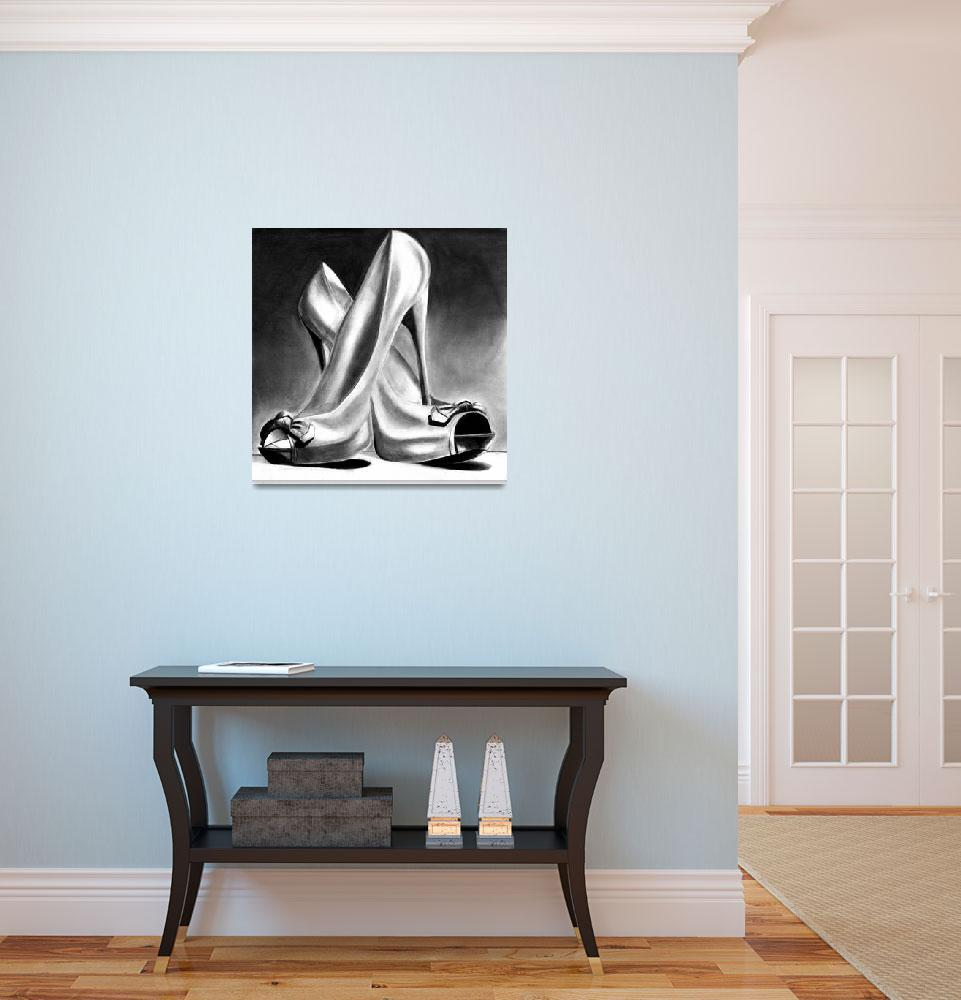 """""""Heels&quot  (2011) by MiriamCopeland"""