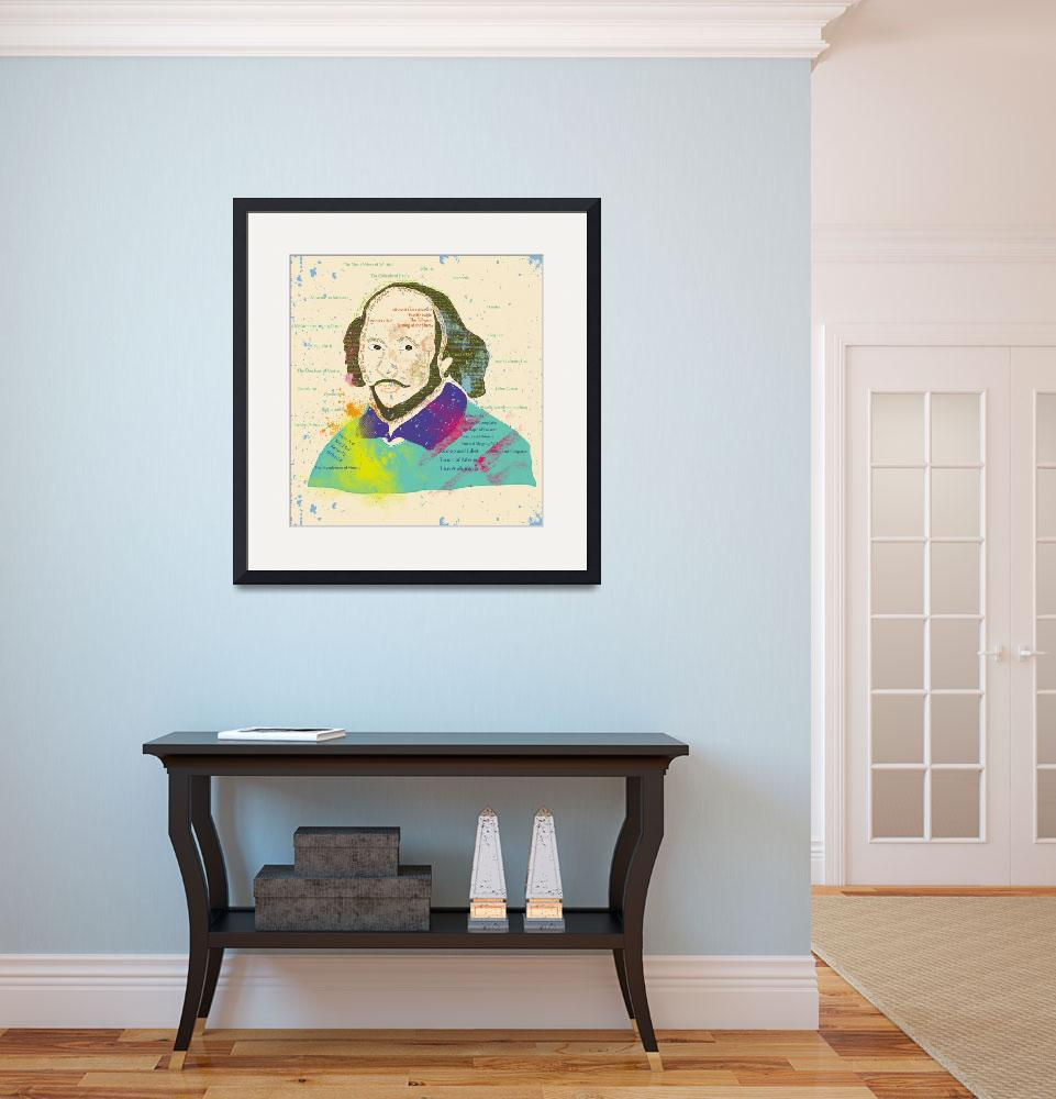 """""""Portrait of Shakespeare&quot  (2013) by famenxt"""
