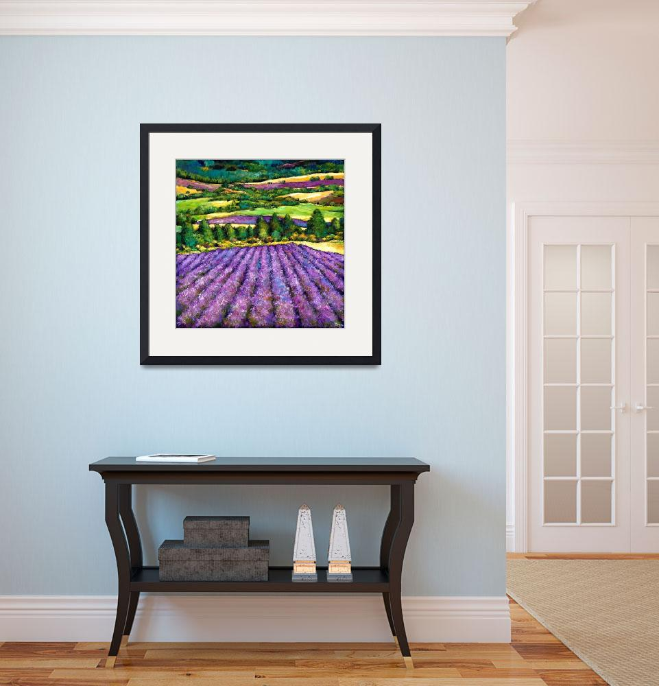 """""""Tuscan Lavender""""  (2011) by jhfineart"""