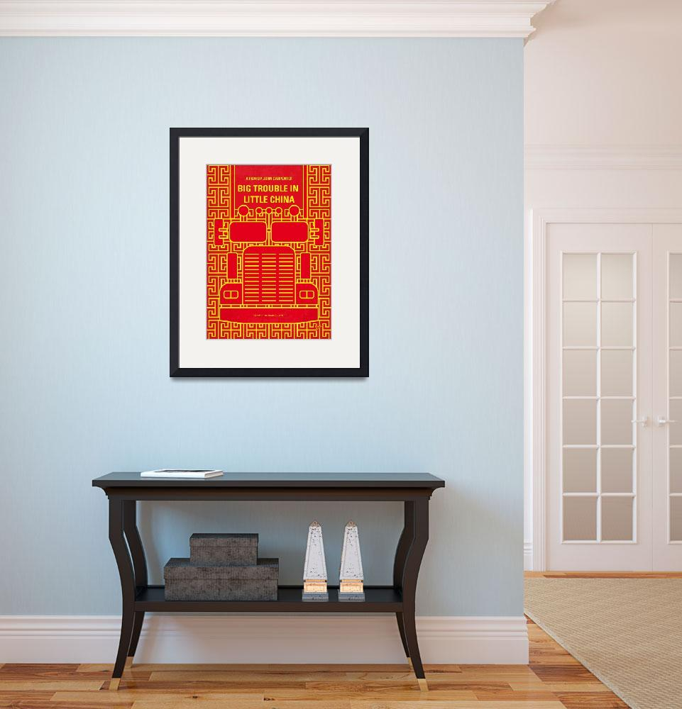 """""""No515 My Big Trouble in Little China minimal movie&quot  by Chungkong"""