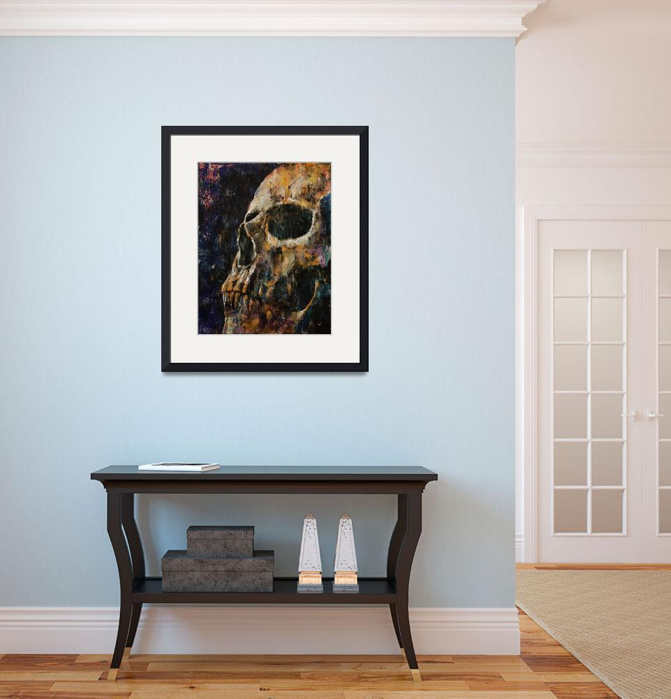 """""""Gold Skull&quot  by creese"""