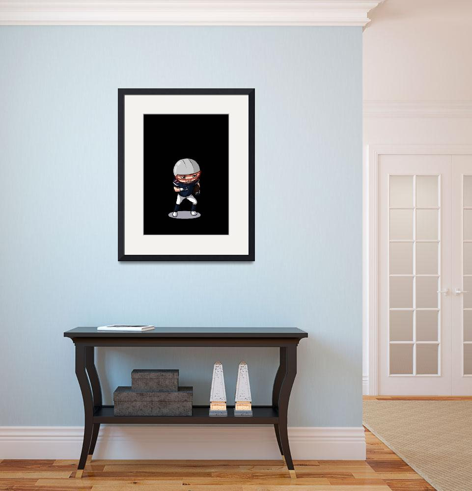 """""""Football player (no background)&quot  (2011) by artbymike"""