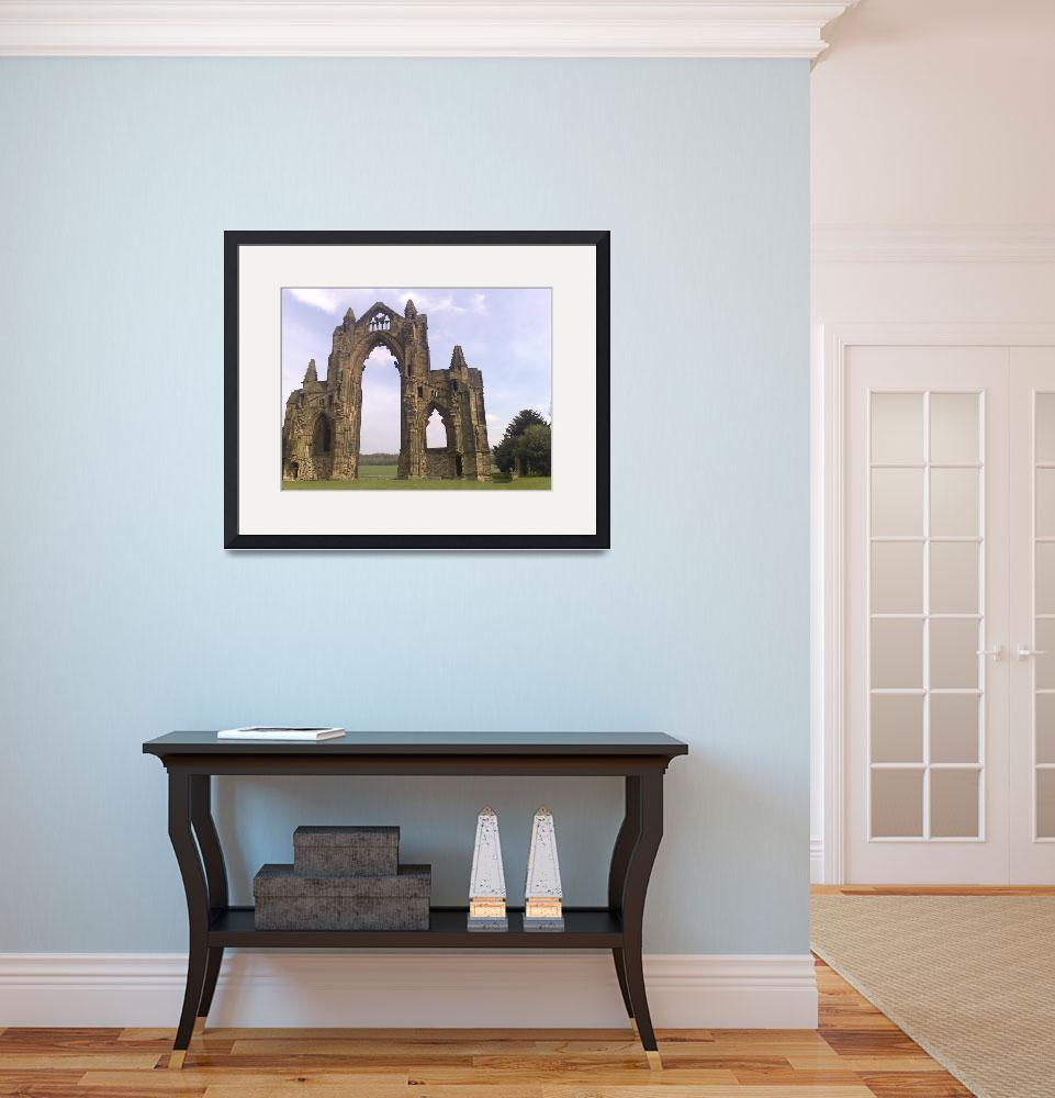 """Guisborough Priory&quot  (2010) by redsquirrel"