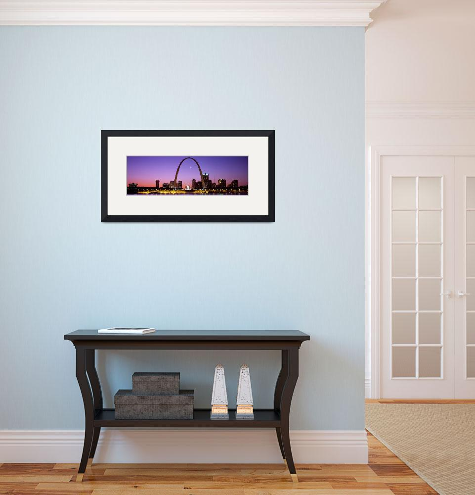 """""""Skyline St. Louis MO&quot  by Panoramic_Images"""