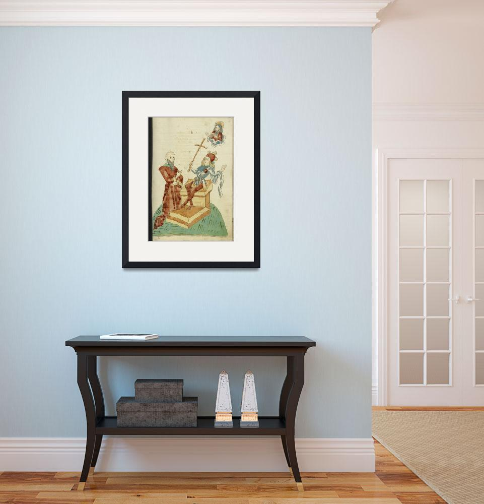 """Roux Art Collection Framed Print&quot  by buddakats1"